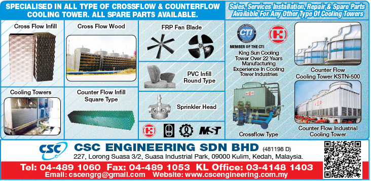 Other Cooling Tower Spare Parts